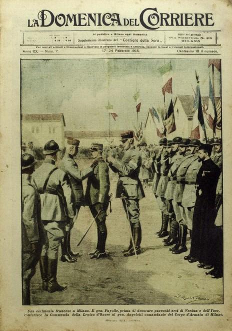 Milano la grande guerra sulle pagine dei giornali 1 di for Resoconto tratto da articoli di giornali