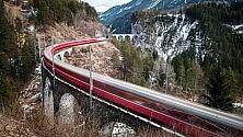 Col treno del Bernina il tour è ad alta quota