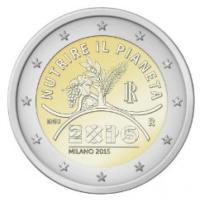 Expo, una moneta da 2 euro per celebrare Milano 2015