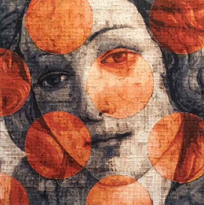 L'artista che fa a brandelli i capolavori del Rinascimento