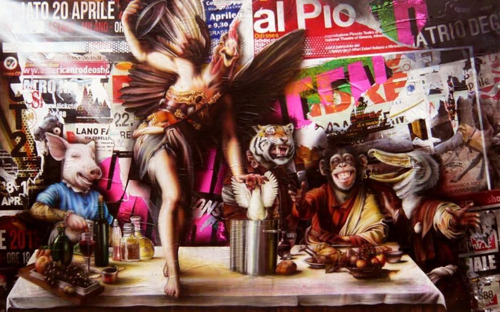 Da oppressi a oppressori: l'arte fa rivoltare gli animali