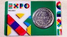 Serie A, la moneta Expo per il sorteggio in campo