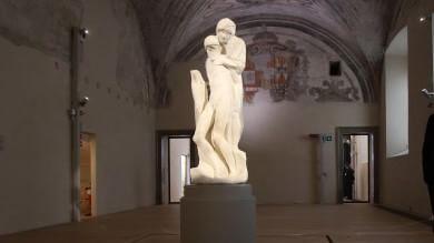 La Pietà Rondanini ha cambiato casa Il nuovo Museo apre ExpoinCittà   ft   -   vd