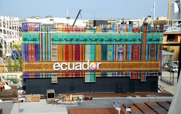 Expo Milano Stand Ecuador : Expo viaggio nelle galapagos e nei tesori dell ecuador