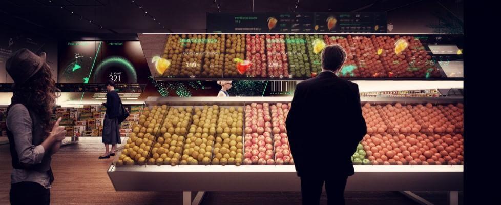 Aree baratto, penne auto-scriventi e trattori semoventi: a Expo il supermercato del futuro