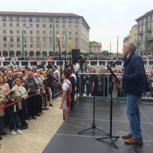 """Milano, Pisapia inaugura la Darsena restaurata: """"Oggi è un giorno da ricordare"""""""