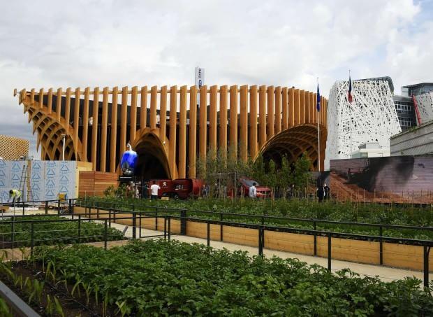 Expo padiglione interattivo e giardino della diversit - Giardino francese ...
