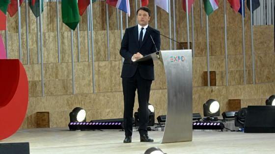 """Expo, è il giorno della grande festa a Rho-Pero. Renzi: """"Oggi l'Italia abbraccia il mondo"""""""