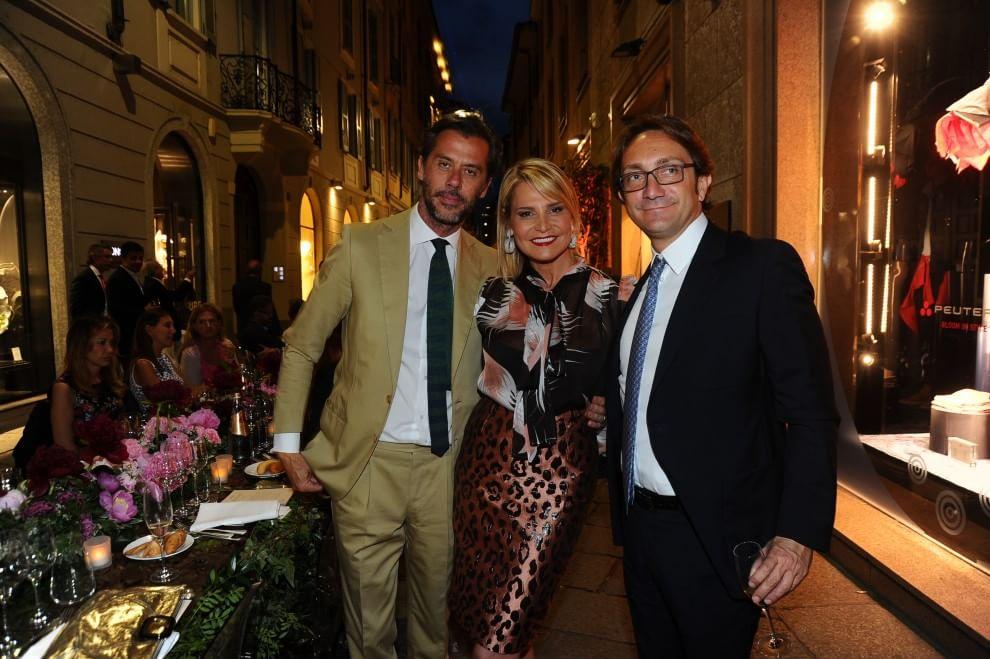 Milano, mille ospiti alla cena benefica in via della Spiga