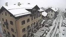 Torna la neve in Valtellina l'inverno a fine maggio