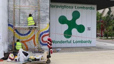 """Expo, chiude il padiglione Lombardia   ft   Maroni: """"Lo rifacciamo come piace a noi"""""""