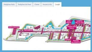 Interattivo  Dove e quando  La mappa degli eventi Expo    Trovaserata  Gli appuntamenti