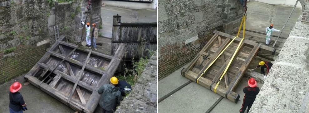 Navigli, le porte di Leonardo a casa dopo il restauro