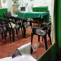 No Tav, corteo anarchici a Milano: sfondata vetrina sede della Lega Nord