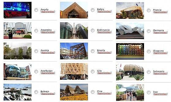 Expo, vota il tuo padiglione preferito