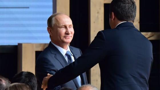 """Putin a Expo: """"I visitatori apprezzerano la nostra ospitalità. Noi tra i primi ad aderire"""""""