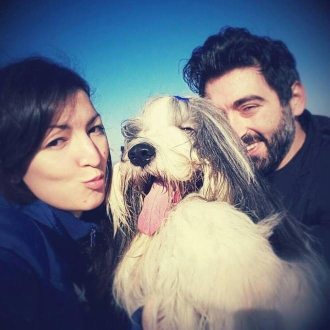 Rony dal cuore impavido, l'album privato del cane più bello del mondo