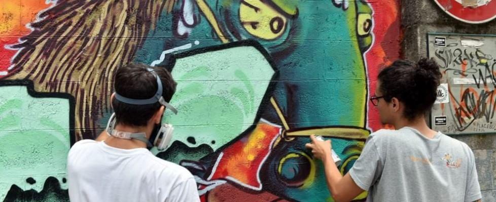 """Writer non vandali, Milano regala più di 100 muri alla creatività. """"Stop proibizionismo"""""""