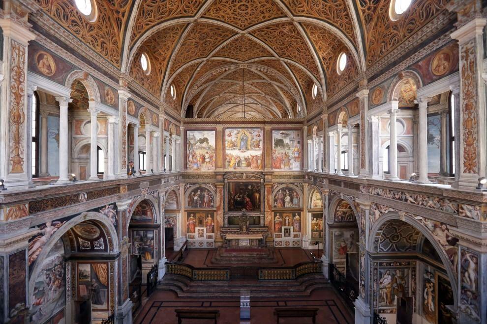 San Maurizio ritrovata, la 'Cappella Sistina' di Milano risplende dopo 30 anni di restauri