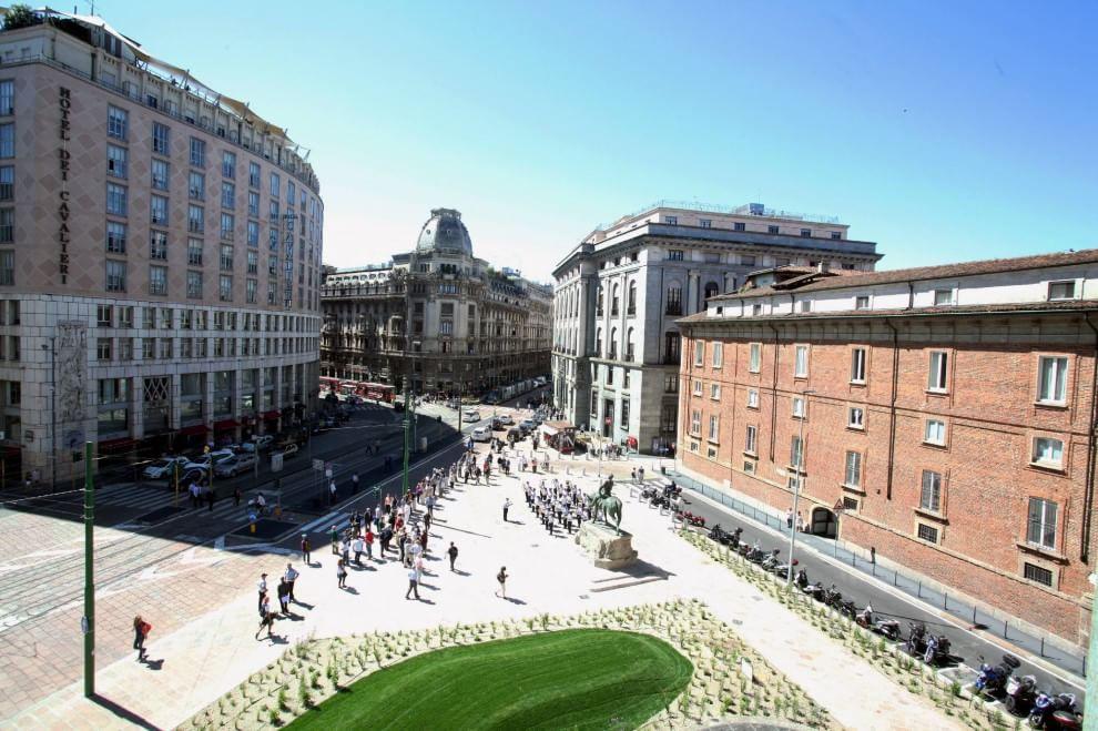 Milano, ecco il nuovo look di piazza Missori
