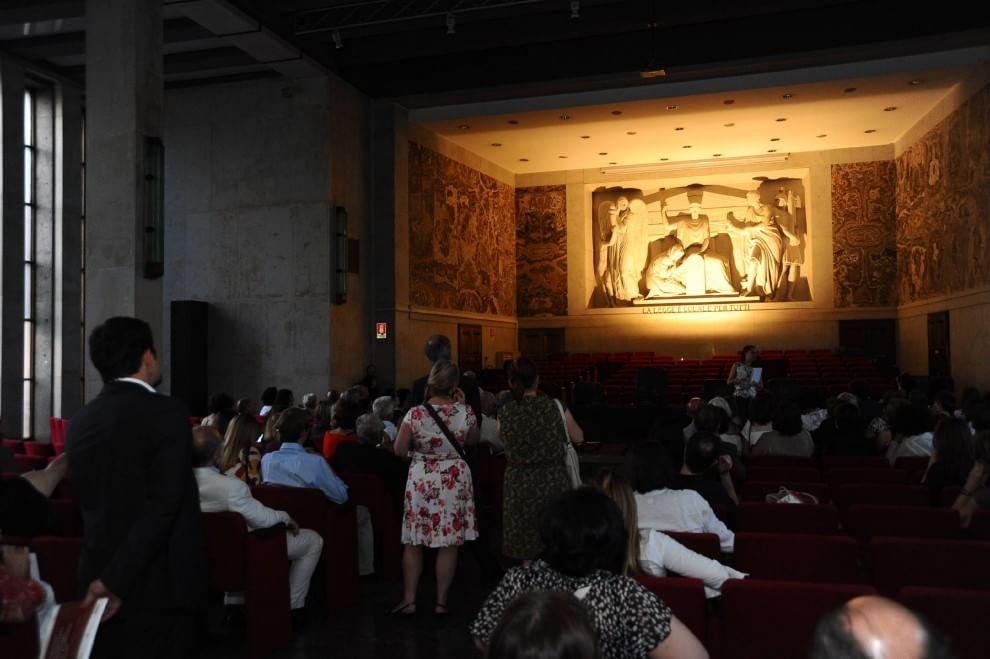 Il Palazzo di Giustizia di Milano svela i suoi tesori del Novecento