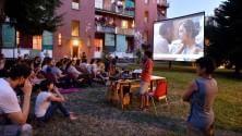 Nei caseggiati popolari il cinema autogestito