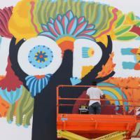 La street art arriva a Expo: tredici murales sul padiglione di Cibus