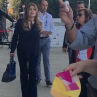 """Veronica Lario a Rho-Pero: """"L'Expo mi ha conquistata"""""""