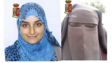 """Terrorismo , i messaggi di Fatima su Skype """"Qui noi ammazziamo i miscredenti  per fare più grande l'Is""""    ft   -   vd    di F.VANNI"""