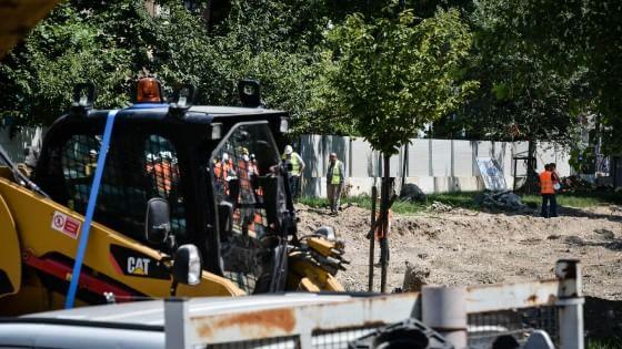 Milano, modifiche per la M4: salvati 169 alberi e cambiato il piano degli scavi