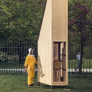 Milano, nella fabbrica del miele: sbarca in Triennale un mega-alveare didattico
