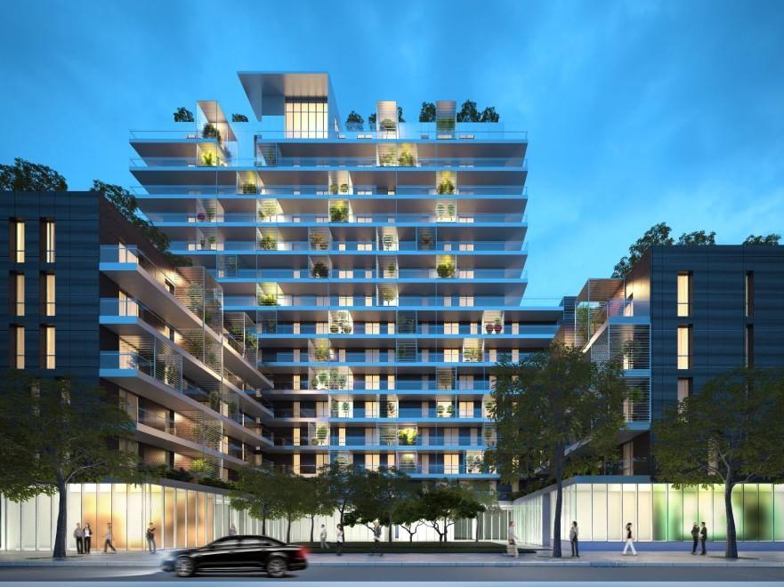Milano 120 appartamenti dominati dal verde ecco i for Appartamenti di design milano