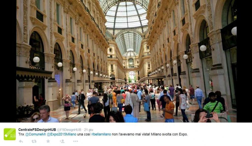 #bellamilano, l'hashtag dell'estate di Expo