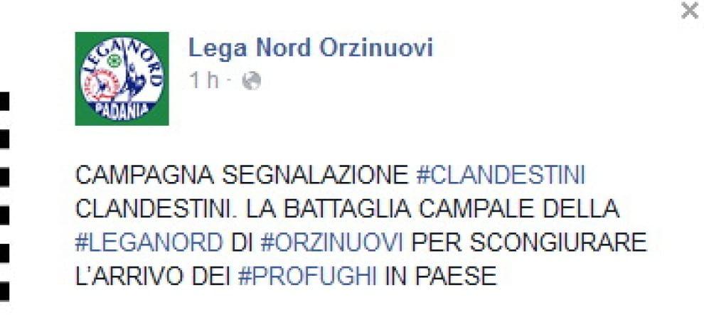"""Brescia, campagna """"segnala il clandestino"""": ecco il volantino"""