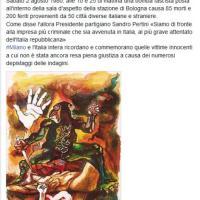 Strage di Bologna, il ricordo di Pisapia su Fb con l'opera di Guttuso
