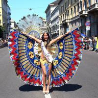Milano come Rio de Janeiro: è il carnevale d'agosto degli ecuadoriani