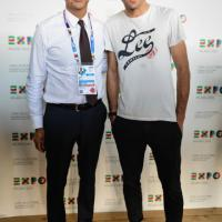 """Expo, c'è Ivan Basso: """"Decumano perfetto come traguardo dei velocisti"""""""