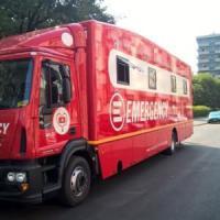 Milano, nelle periferie della città il presidio mobile di Emergency