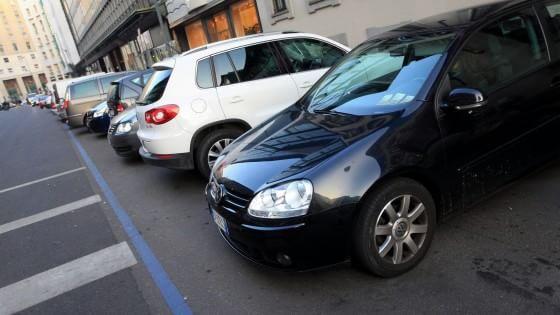 Dipingere Strisce Parcheggio : Catania strisce ad opera d arte l automobile