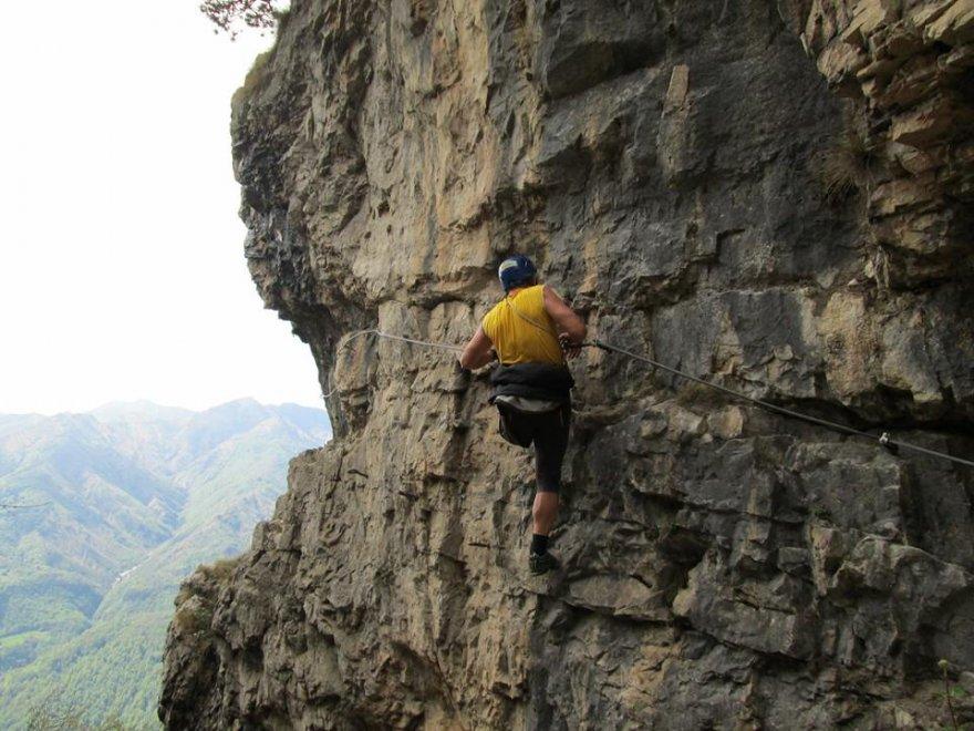 Le imprese di Oliviero Bellinzani, lo scalatore con una gamba sola