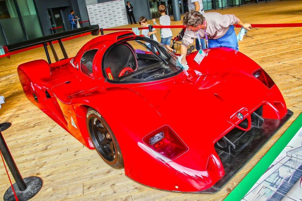 Expo, arriva la supercar Alfa Romeo: regina delle piste negli anni Ottanta