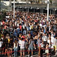 Movida anticipata a Expo, cartoline dai cancelli