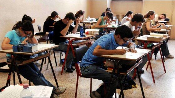 test ingresso primo liceo matematica
