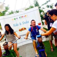 Expo, arriva il bike&shake: vuoi un frullato? Pedala