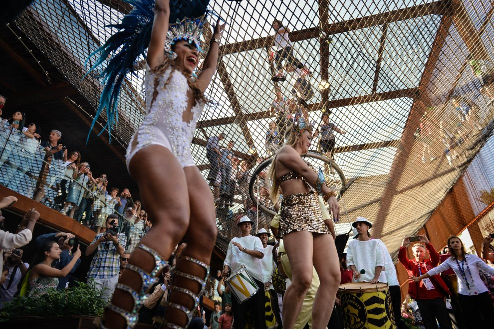 Expo, samba scatenato: un Carnevale di Rio al National day del Brasile