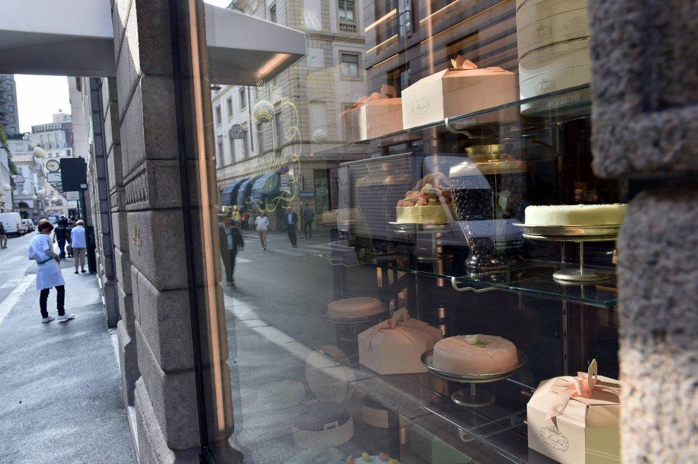 La pasticceria Marchesi firmata Prada apre in Montenapoleone