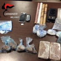Milano, evade dai domiciliari e si fa sorprendere con 1,5 kg di droga: arrestato