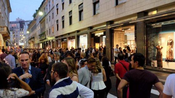 Milano shopping non stop anche a porta nuova per la vogue - Ristoranti porta nuova milano ...