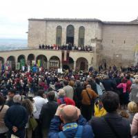 Assisi: Scola, Maroni e Pisapia alla celebrazione della festa di San Francesco