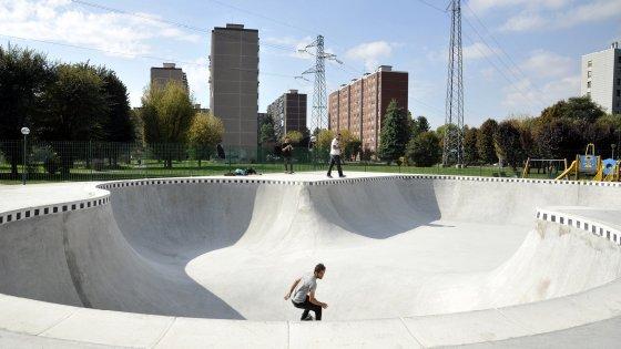 Cibo, djset e performance: al Gratosoglio s'inaugura la pista progettata dagli skater di Milano